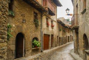 スペインの町
