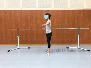 バレエの1番ポジション