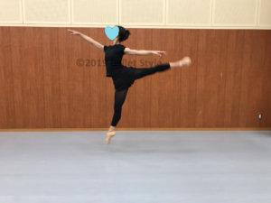 バレエの動きフェッテ