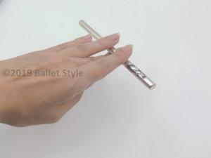 バレエの指先練習