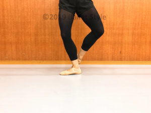 クペプリエをするダンサー