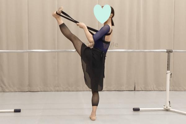 チャコットのダンスバンドを使ったトレーニング