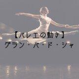 バレエの動きグランパドシャ